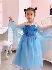 Đầm Công Chúa Elsa HQ839 Ginger World