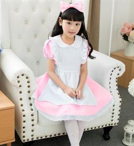 Đầm Công Chúa Alice Hồng HQ841 GINGER WORLD