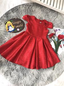 Đầm Dự Tiệc Gấm Cho Bé HQ852 Ginger World