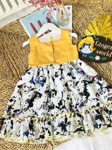 Đầm Tinh Nghịch Cho Bé SC333 Ginger World