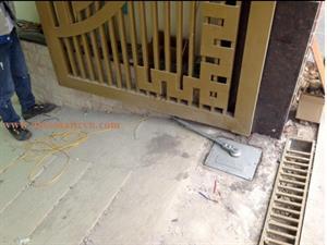 Cổng âm sàn tự động Malaysia