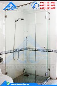 Cửa kính - cửa kính phòng tắm mở quay lề 90 độ