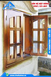 Cửa gỗ - Cửa sổ mở quay ra ngoài