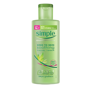 Nước hoa hồng Simple Kind To Skin Soothing Facial Toner