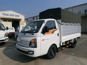 Hyundai Porter H150 Thùng Mui Phủ Bạt 1.5 Tấn