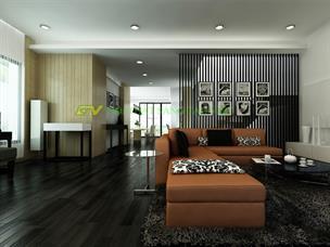 Thiết kế nội thất chung cư Royal City nhà chị Phương Anh