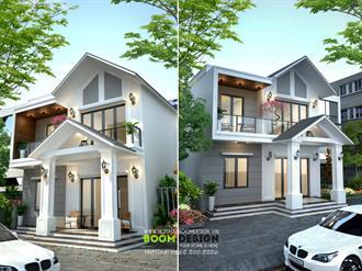 Thiết kế kiến trúc nhà lô 70m2 - Anh Quang, Lạng Sơn
