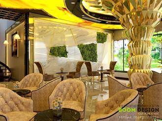 Thiết kế nội thất Bar Cafe - Chị Oanh, đường 3-2, TP Thái Nguyên