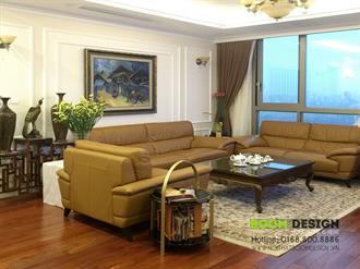 Thi công nội thất chung cư Hyundai Hillstate, Hà Đông - Căn 133 m2