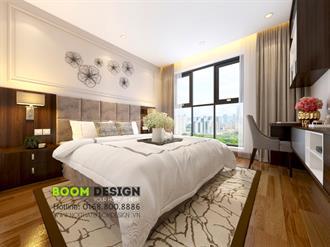 Thiết kế nội thất chung cư 110m2 Goldmark City 136 Hồ Tùng Mậu