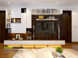 Thiết kế nội thất chung cư 60m2 Center Point - Lê Văn Lương
