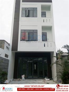 Thi công cửa nhôm xingfa Đà Nẵng - Công trình nhà Anh Trương Hùng