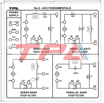 Bộ thí nghiệm cơ bản mạch AC - 2 - TPAD.Q051X
