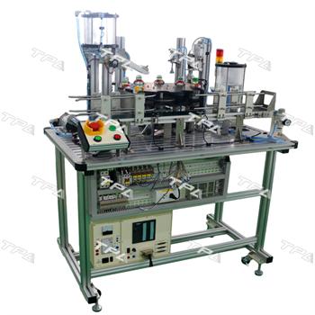 Mô hình thiết bị chiết rót, đóng chai -TPAD.M0201