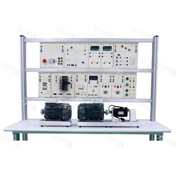 Bộ thí nghiệm khảo sát các đặc tính của động cơ một pha, ba pha (máy điện quay) PE.A1603