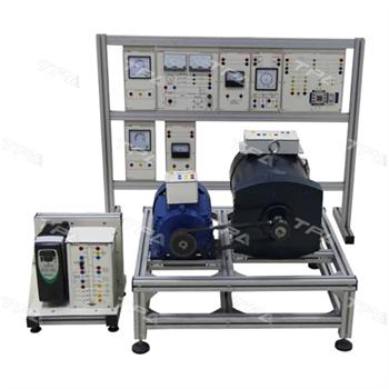 Mô hình hòa đồng bộ máy phát điện ba pha IE.A0901