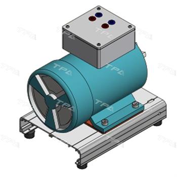 Mô hình cắt bổ động cơ (động cơ một chiều kích từ độc lập vận hành được) TPAD.D9501