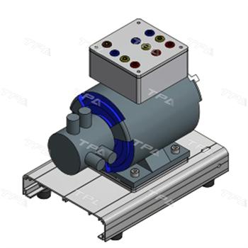 Mô hình cắt bổ động cơ (động cơ ba pha roto dây quấn vận hành được) TPAD.D9308
