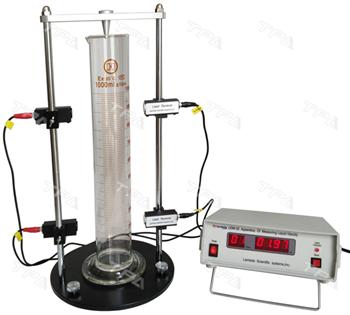 Thiết bị đo độ nhớt chất lỏng - phương pháp thả rơi quả cầu