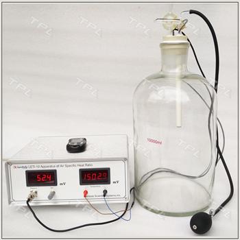Thiết bị thực hành đo hệ số Laplace (hệ số công suất nhiệt) của khí