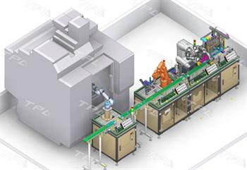 Hệ thống đào tạo rô bốt lắp ráp vòng bi liên hoàn