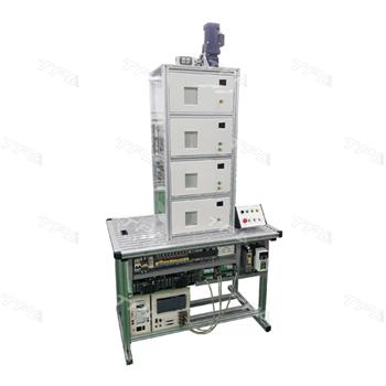 Bộ lắp ráp và điều khiển thang máy 4 tấng/  Four-layer Elevator Trainer