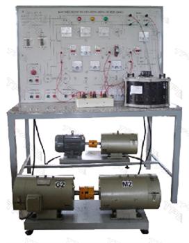 Bàn thí nghiệm truyền động động cơ điện một chiều/ Experiment setup for DC motor drives