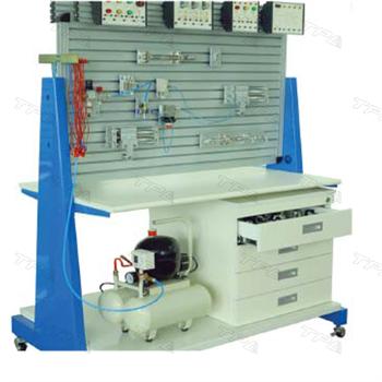 Bàn thí nghiệm điều khiển vị trí tốc độ xi lanh khí nén sử dụng servo van/ Experimental desk of position - speed control of Pneumatic cylinder using servo valve