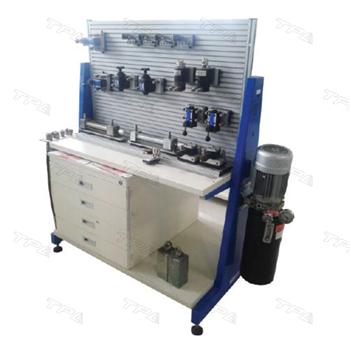 Bàn thí nghiệm điều khiển vị trí và tốc độ động cơ thủy lực dùng servo van/ Experimental desk of position - speed control of Hydraulic motor using servo valve