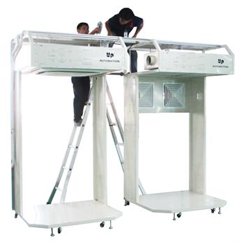 Cabin thực tập lắp đặt máy lạnh và điều hòa không khí