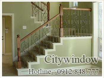 Mẫu cầu thang sắt số 44