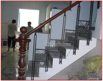 Mẫu cầu thang sắt số 24