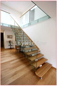 Cầu thang kính mẫu 29