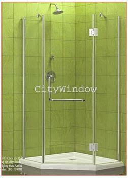 Vách tắm kính mẫu 23