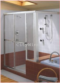 Vách tắm kính mẫu 05
