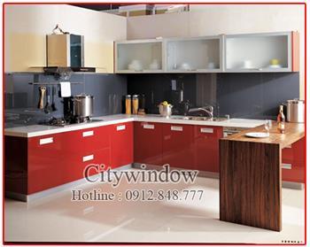 Kính màu - kính ốp bếp mẫu 26