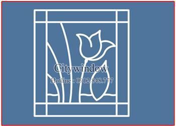 Mẫu hoa sắt cửa sổ - số 25