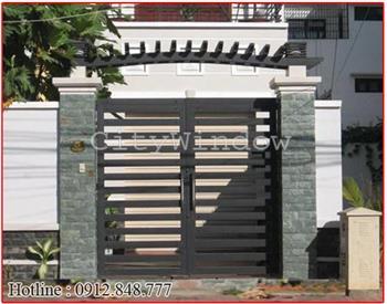 Mẫu cửa sắt - cổng sắt số 36