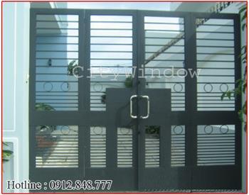 Mẫu cửa sắt - cổng sắt số 35