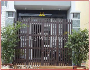 Mẫu cửa sắt - cổng sắt số 34