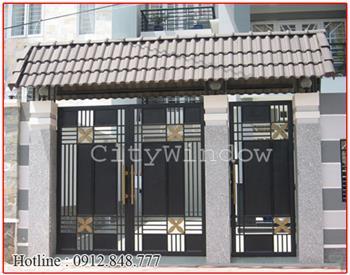 Mẫu cửa sắt - cổng sắt