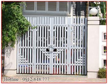 Mẫu cửa sắt - cổng sắt số 28