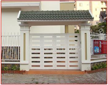 Mẫu cửa sắt - cổng sắt số 20