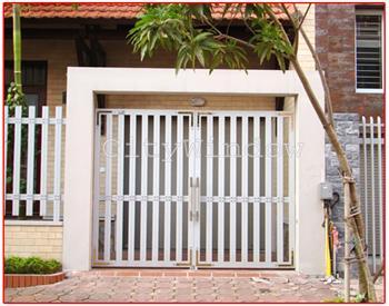 Mẫu cửa sắt - cổng sắt số 19