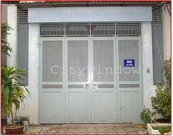 Mẫu cửa sắt - cổng sắt số 16
