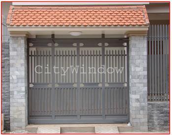 Mẫu cửa sắt - cổng sắt số 14