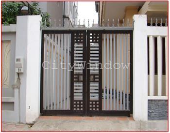 Mẫu cửa sắt - cổng sắt số 13
