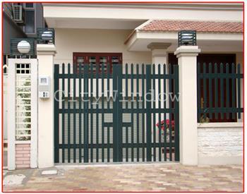 Mẫu cửa sắt - cổng sắt số 12