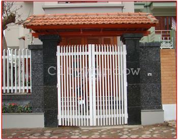 Mẫu cửa sắt - cổng sắt số 11