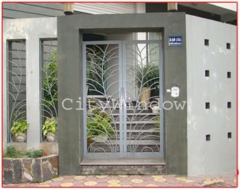 Mẫu cửa sắt - cổng sắt số 10